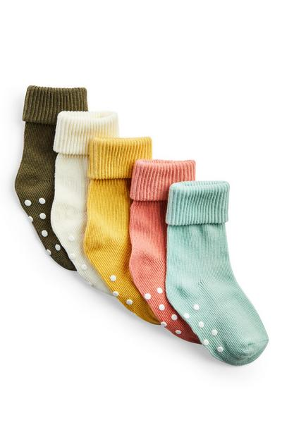 Simple Days Baby Socks 5 Pack