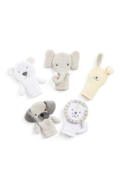 Otroške prstne lutke, 5 kosov