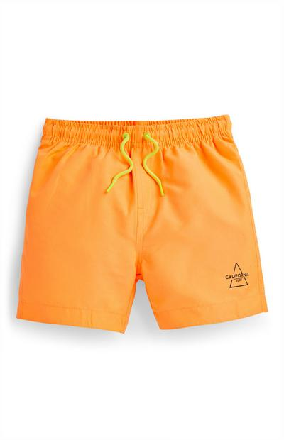 Orange Badeshorts (kleine Jungen)