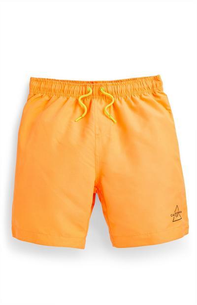 Orange Badeshorts (Teeny Boys)