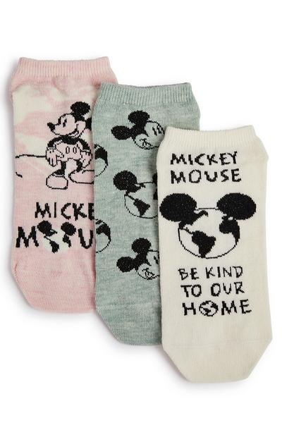 3-Pack Disney Mickey Mouse Planet Socks