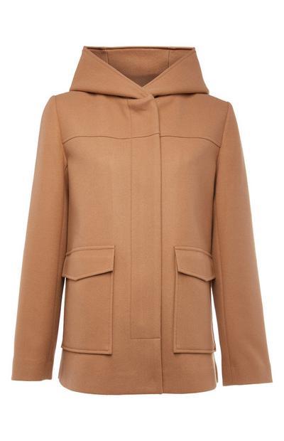 Beige Duffle Coat