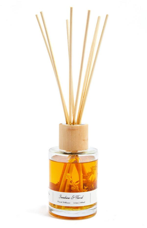 Sunshine And Floral Reed Diffuser