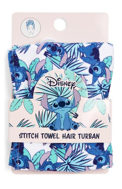 Turbante in spugna per capelli Stitch Disney
