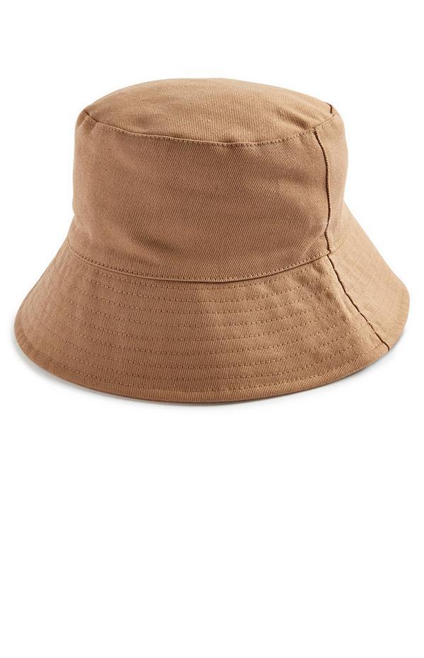 Khaki Canvas Bucket Hat