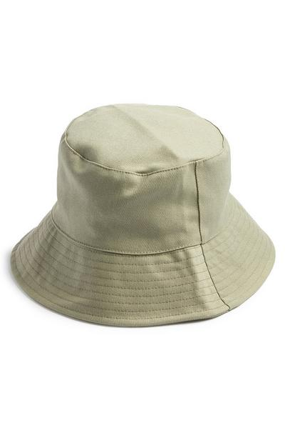Khaki Canvas Bucket Hat