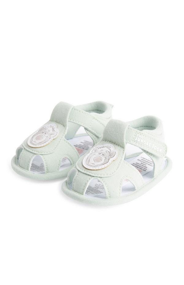 Baby Boy Green Jungle Book Sandals