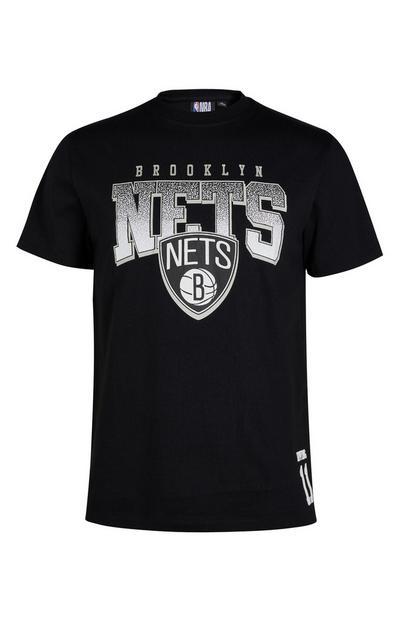 Black NBA Brooklyn Nets T-Shirt