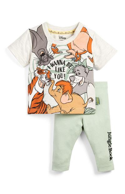 Baby Jungle Book T-Shirt And Leggings Set