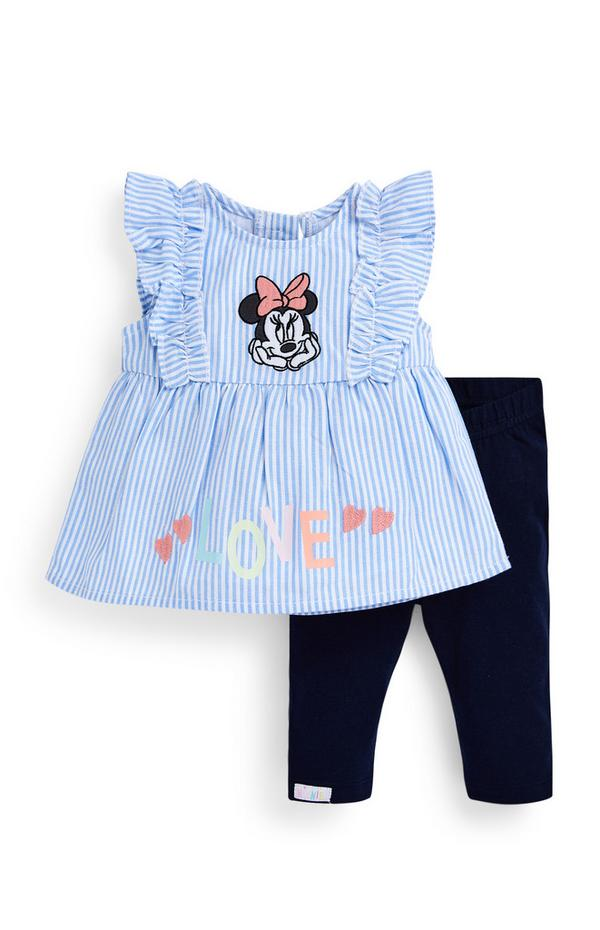 Newborn Baby Girl Disney Minnie Mouse 2 Piece Outfit