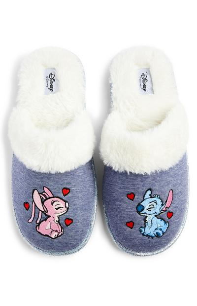 Chaussons mules Disney Lilo et Stitch Angel