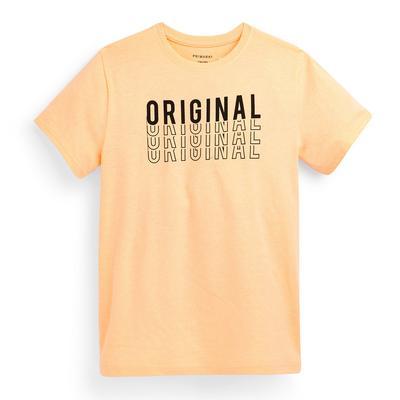 T-shirt pêche à message ado