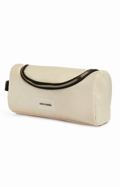Ecru Less Is More Travel Bag