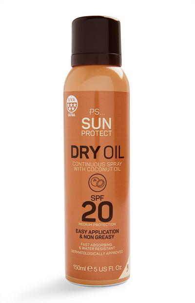 Ps Sun Protect Dry Oil Continuous Spray Spf 20