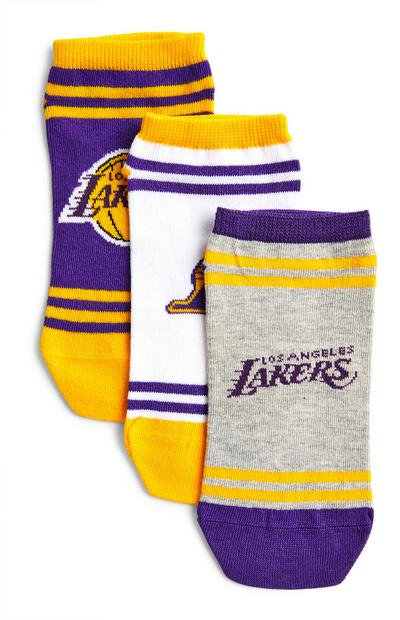 Lot de 3 paires de chaussettes NBA LA Lakers