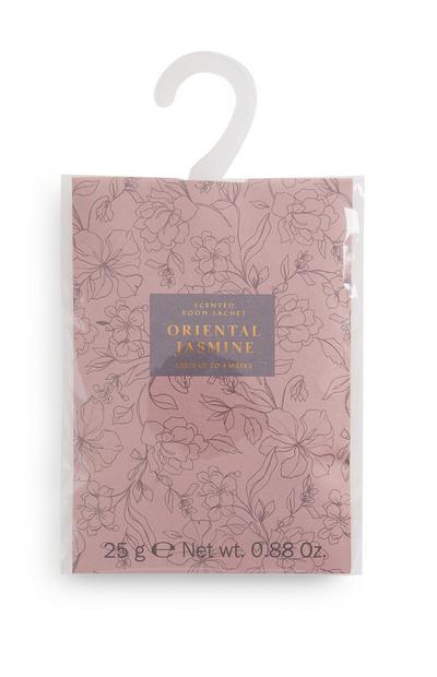 """Rosa """"Oriental Jasmine"""" Duftbeutel mit Print"""