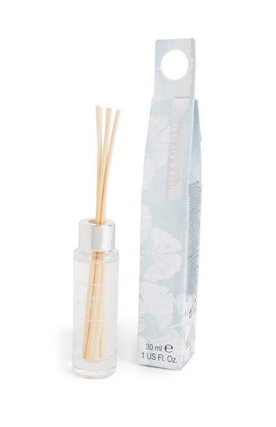 Petit diffuseur de parfum avec bâtonnets et imprimé Amber Bay Leaf