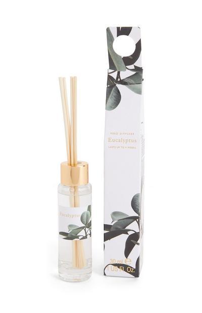 Petit diffuseur de parfum avec bâtonnets et imprimé Eucalyptus