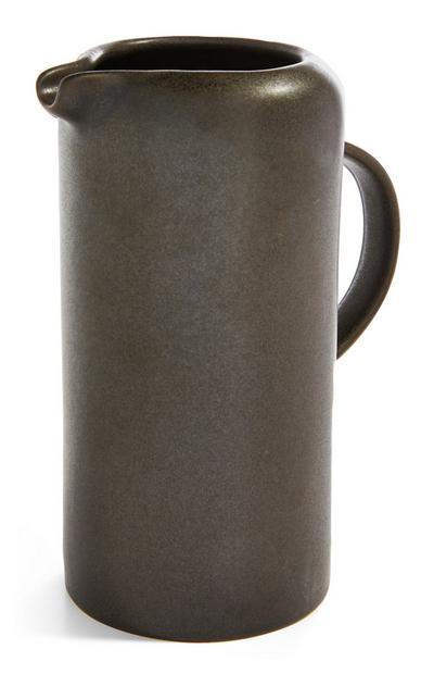 Black Stoneware Jug
