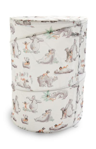 Ivoorkleurige pop-upwasmand The Jungle Book