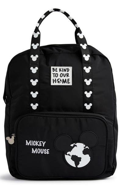 Primark Cares Featuring Disney Mickey Black Backpack