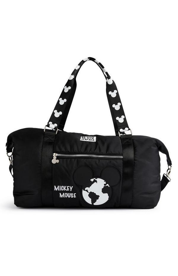 Primark Cares Featuring Disney Mickey Black Holdall Bag