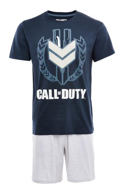 Pijama corto azul marino «Call of Duty»