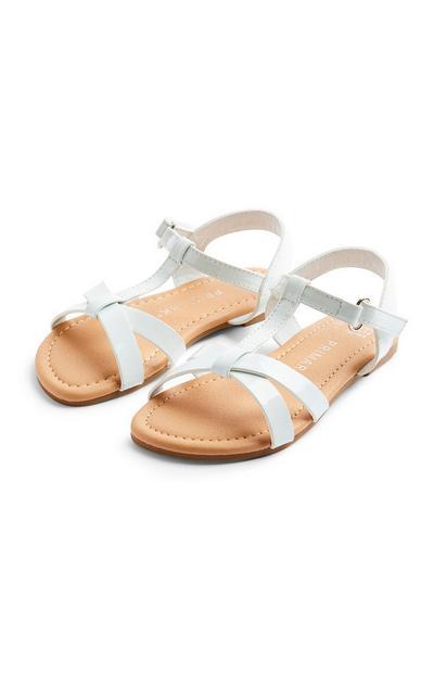 Sandales ivoire à brides fille