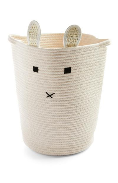 Kids Cream Large Novelty Basket