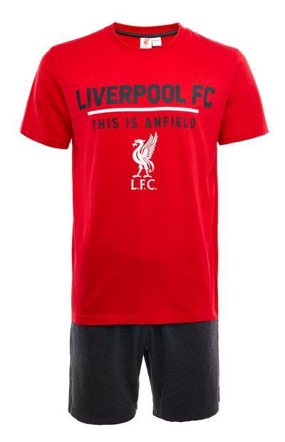 Liverpool FC Red Short Pyjamas Set