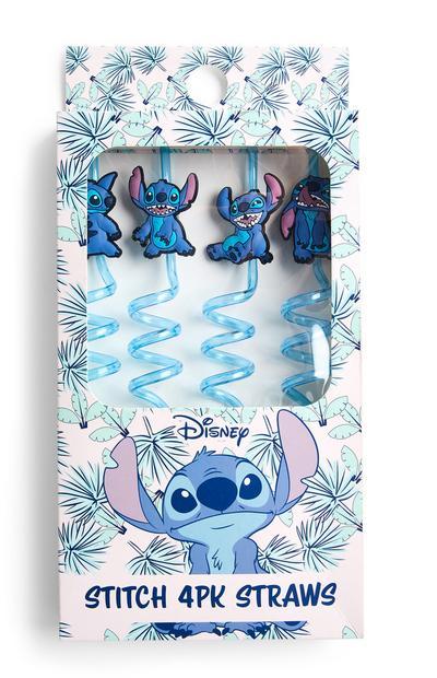 2-Pack Blue Lilo And Stitch Straws