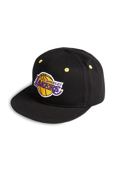 Gorra de béisbol negra de Los Angeles Lakers de la NBA