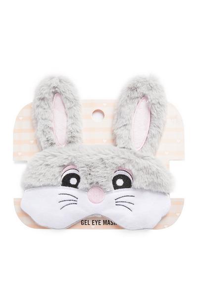 Grey Easter Bunny Gel Eye Mask