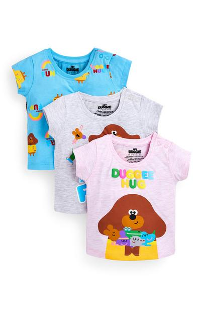 Baby Girl Hey Duggee T-Shirts 3 Pack