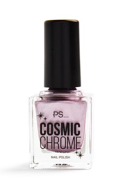 Pink Chrome Nail Polish