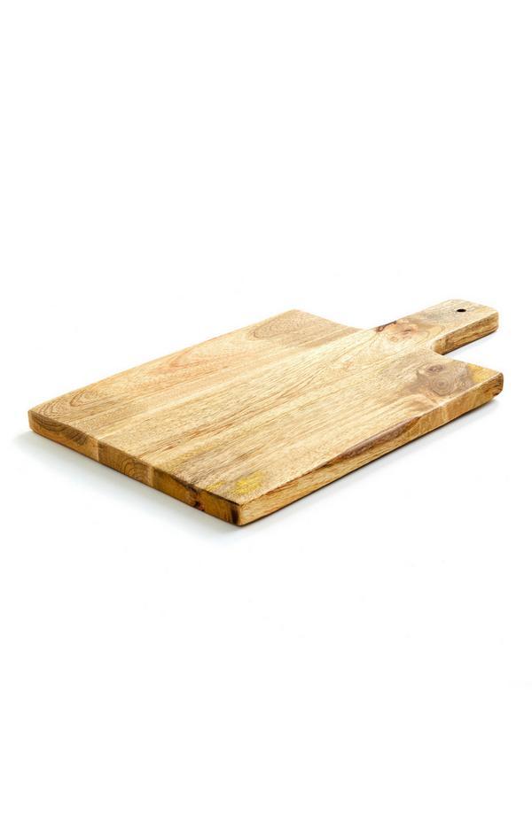 Großes Holzservierbrett