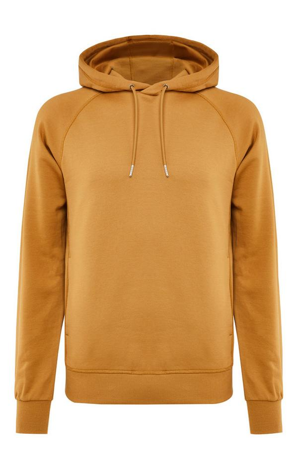 Premium Tan Cotton Pull Over Hoodie