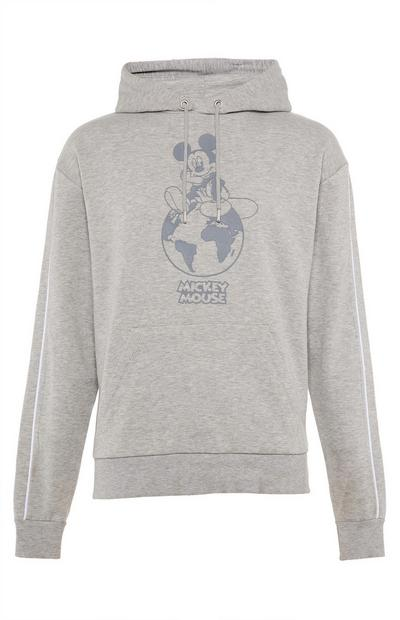 Sweat à capuche gris Primark Cares Disney Mickey