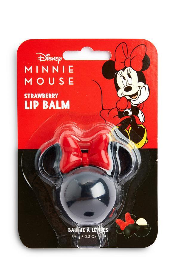Bálsamo para lábios morango Disney Minnie Mouse 3D
