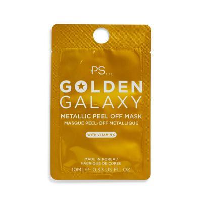 Maschera viso peel-off metallizzata Ps Golden Galaxy