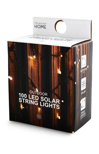 LED Outdoor Solar String Lights 100