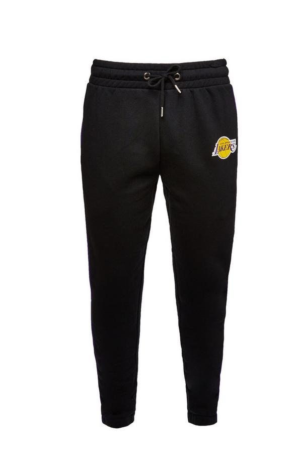 Black NBA LA Lakers Joggers