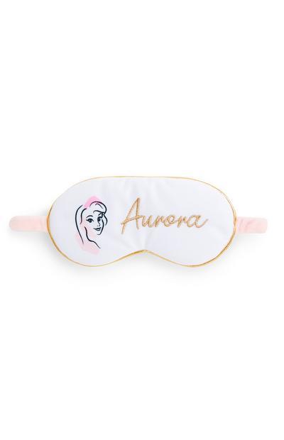 """Weiße """"Disney Prinzessin"""" Schlafmaske"""