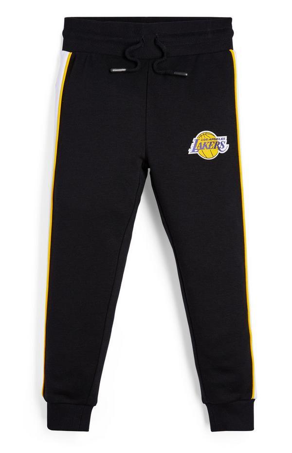 Bas de jogging noir NBA LA Lakers garçon