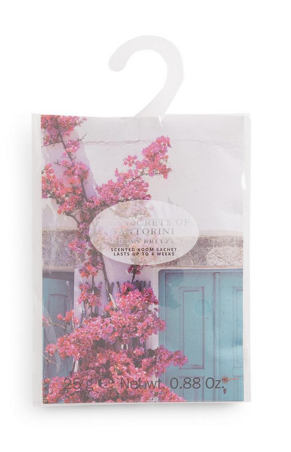 The Secret Of Santorini Printed Scented Room Sachet