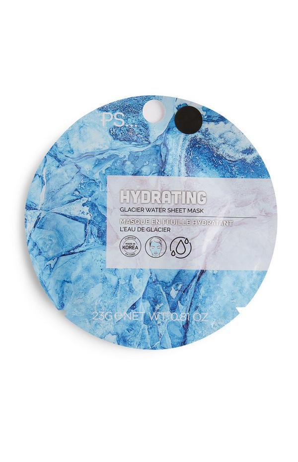 Feuchtigkeitsspendende PS Tuchmaske mit Gletscherwasser
