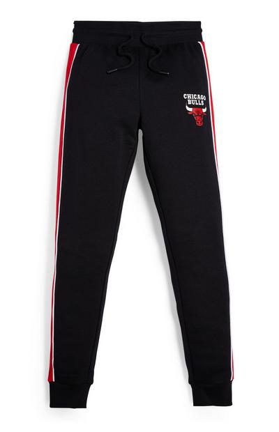 Bas de jogging noir NBA Chicago Bulls ado