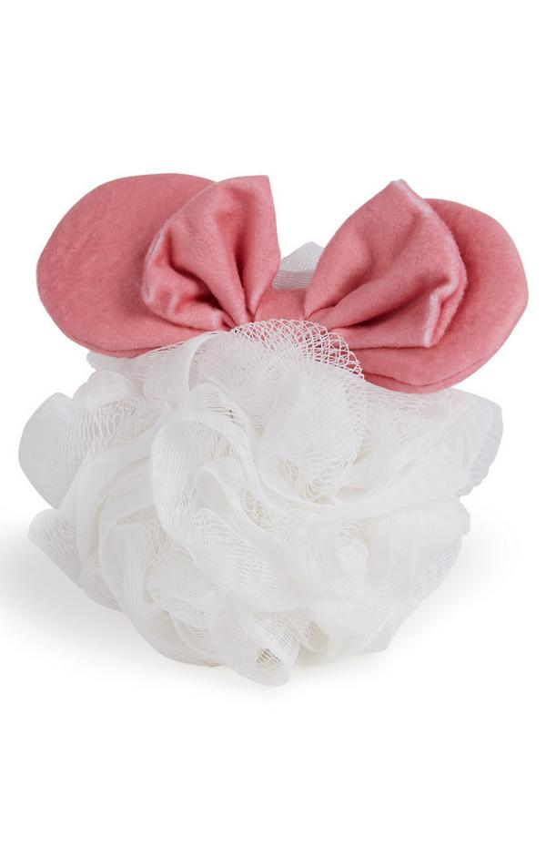 Primark Cares Featuring Disney Mickey White Shower Body Puff