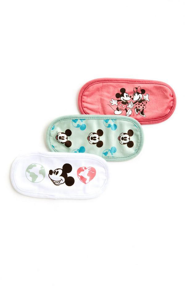 Lot de 3 mini serviettes de toilette Primark Cares Disney Mickey Mouse