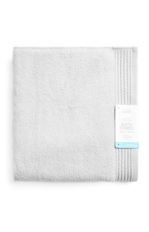 Silver Ultra Soft Bath Towel